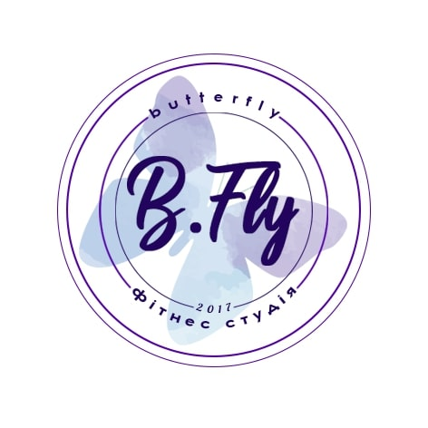 Логотип фитнес-клуба B.Fly